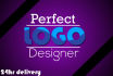 create Professional and Perfect LOGO design