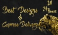 design any thing with best quality in photoshop