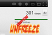 unfreezing your youtube video 301 views