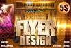 design a eye catching best flyer design