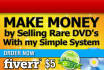 show you how to Buy and Sell Rare DVDs