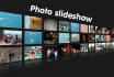 create Beautiful video photo slideshow