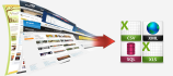 web scraping 2 websites, data extraction