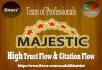 do 45 high Trust flow and citation flow Dofollow backlinks on high DA