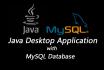 write Java with MySQL  application