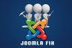 fix joomla website error