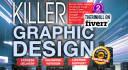 design killer banner, header, facebook cover