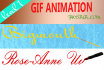 make awesome animated GIF of your name or any given text