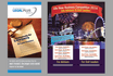 design fresh flyers and brochures in high quality
