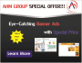create banner ads to promote your business