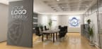 create Office Interiors With Your Logo
