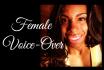 female voice over audio