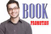 promote your kindle book on my FACEBOOK pages