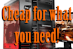 help you build the best and cheapest PC for your needs