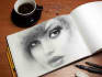 make your photo into a realistic image of a sketch
