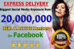 promote your link world wide with 20 MILLION facebook real users