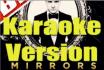 make Mirrors by JT in a karaoke format