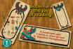 make a bookmark with your name in Egyptian hieroglyphics
