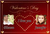 create you a special picture for Valentines day to make a surprise to your love