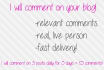 comment on your blog 30 times