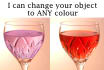 change your object to any colour