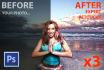 retouch 3 of your photos