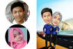 make caricatures concept my style