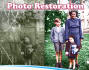 restore and repair ,colorize your old damaged photos