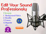 edit your sound professionally