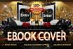 design 2 Custom book cover in 8hrs