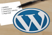 configure Your Domain,Hositng And Install Wordpress And Customize Theme