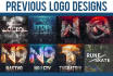 design a YouTube logo for your channel