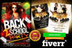 design an Amazing Flyer, Banner, Cover, Business Card
