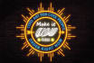 make your logo or message glow neon effect