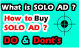 blast your solo ad or email advertising