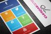 an a design Metro Businesscard