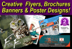 do a flyer or brochure or poster or banner
