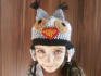 crochet a kid owl hat for you