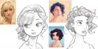 draw you in Disney cartoon style