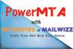 config Install SMTP PowerMTA Interspire Mailwizz