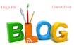 guest post of high pr 3 to 6 blogs