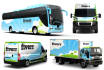put your logo, photo or text on 3D van, bus and truck