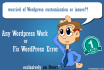 install WordPress theme and modify as per your needs