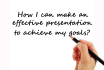 teach you how to make an effective presentation