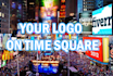put your banner on time square