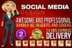 design a Professional Banner Ad, Header and Cover
