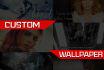 create a custom wallpaper for desktop or phone