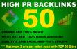 do 50 High PR Backlinks from PR9 to PR3, Seo Online Marketing
