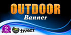 design attractive Banner for Outdoor Ad