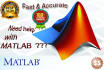 help you with ANY MatLab based projects or Assignments